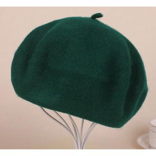 US Seller Women/'s Solid Color French Wool Beret Hat Vibrant /& Classic Colors New