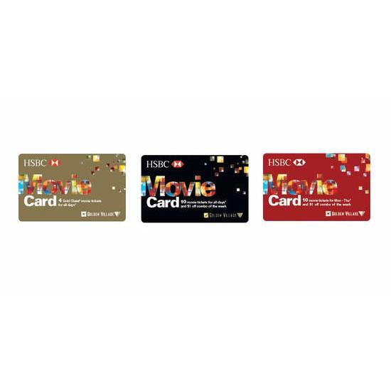 HSBC GV Movie Card (Weekday/Weekend/ Gold Class)