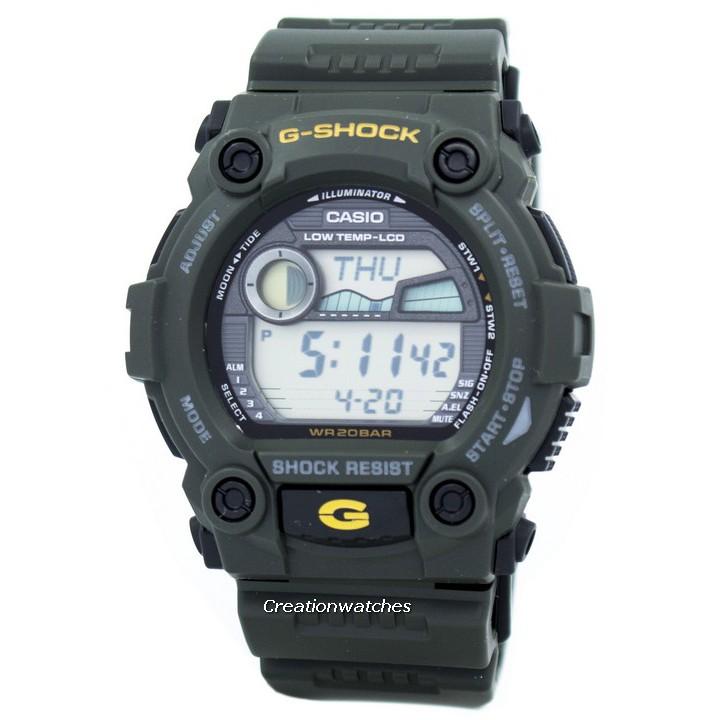 Casio G-Shock Analog-Digital G-300-3AV G300-3AV Mens Watch | Shopee Singapore