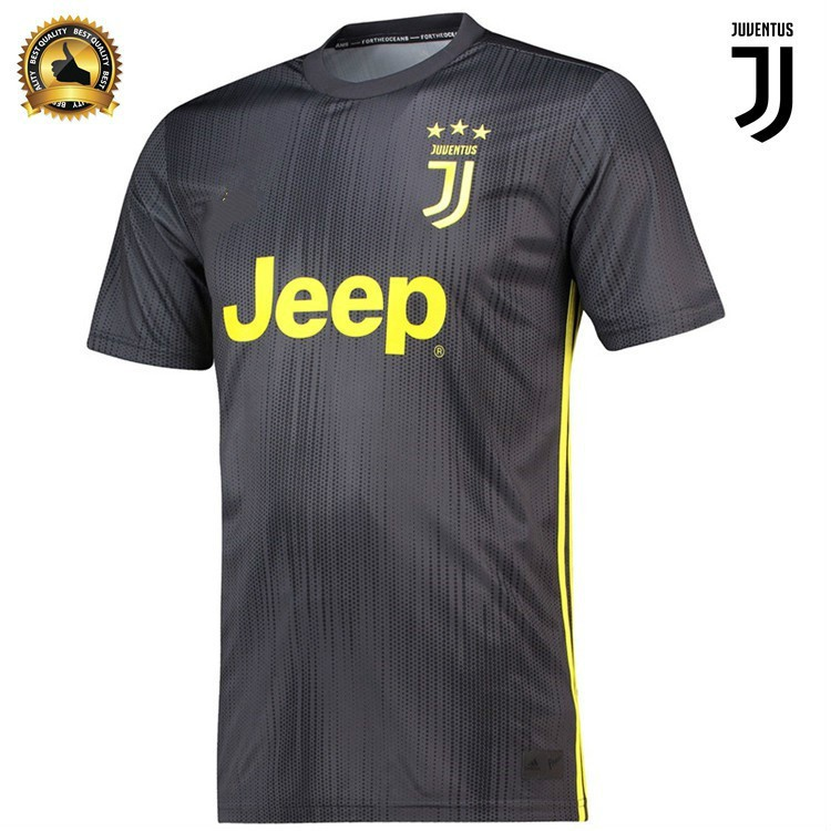 sneakers for cheap 37dba a650c Ronaldo 7 Top Quality Juventus Third Football Jersey Football shirt 18/19
