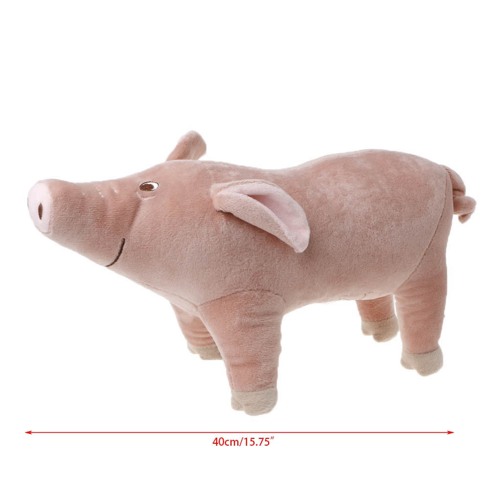 Pink Pig Kid Baby Soft Stuffed Simulation Animal Farm Plush Toy Cute Gift Lovely