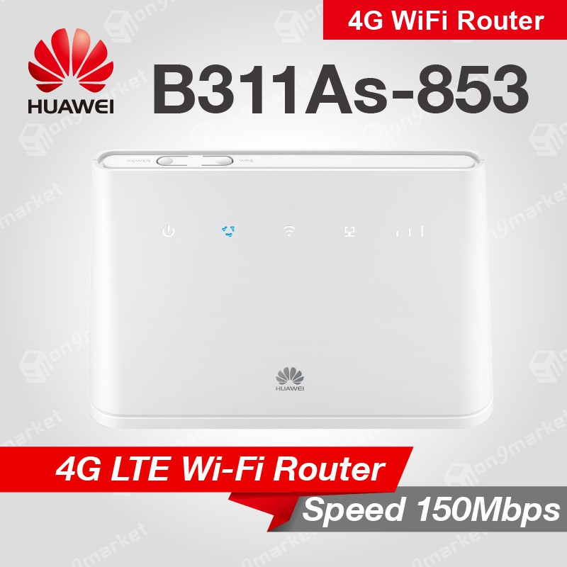 Huawei B311 LTE CPE 4G Sim Card Router B311As-853 Mobile Wifi wireless  gateway