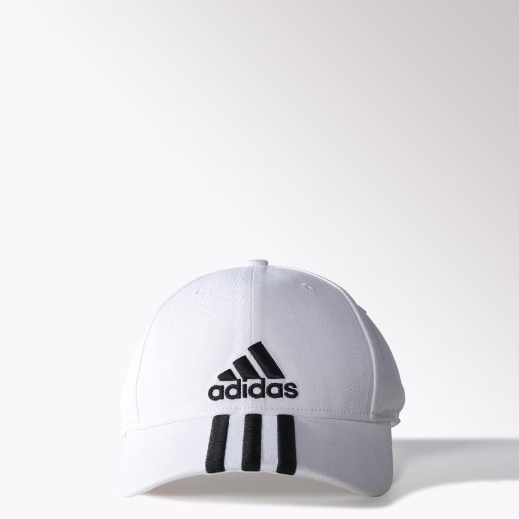 4c408ca3910 ADIDAS PERFORMANCE 3-STRIPES CAP (WHITE)