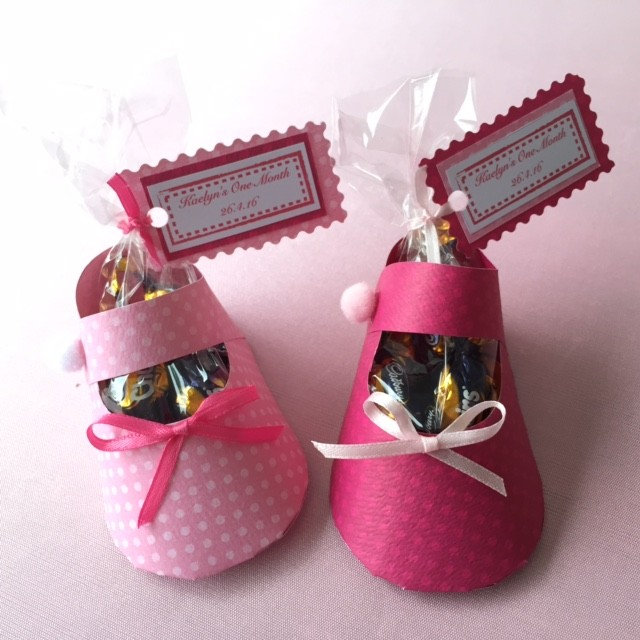 DIY paper baby booties - for Baby Shower, baby full month, goodie bag, party favour   Shopee Singapore
