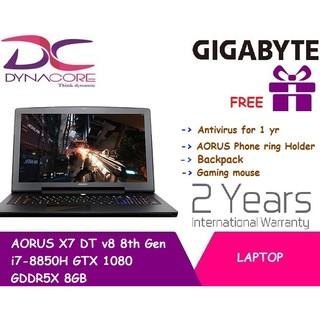 Gigabyte aorus x7 dt v8 (9wx7yv806-sg-a-b09) gaming notebook