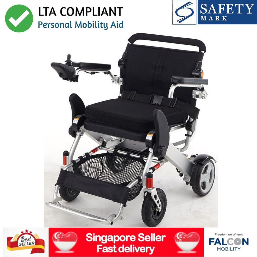 *LTA COMPLIANT* KD SmartChair c/w SAFETY MARK CHARGER