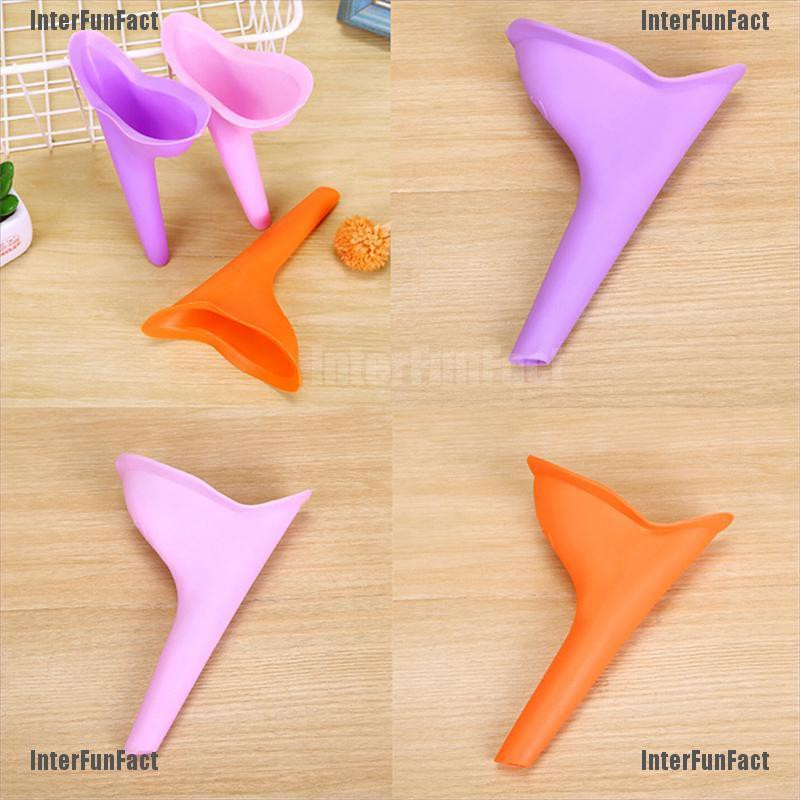 Women Female Portable Urinal Outdoors Travel Stand Up Pee Urination Device TPD