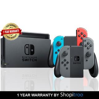 Nintendo Switch Console + 1 Year Warranty By Shopitree