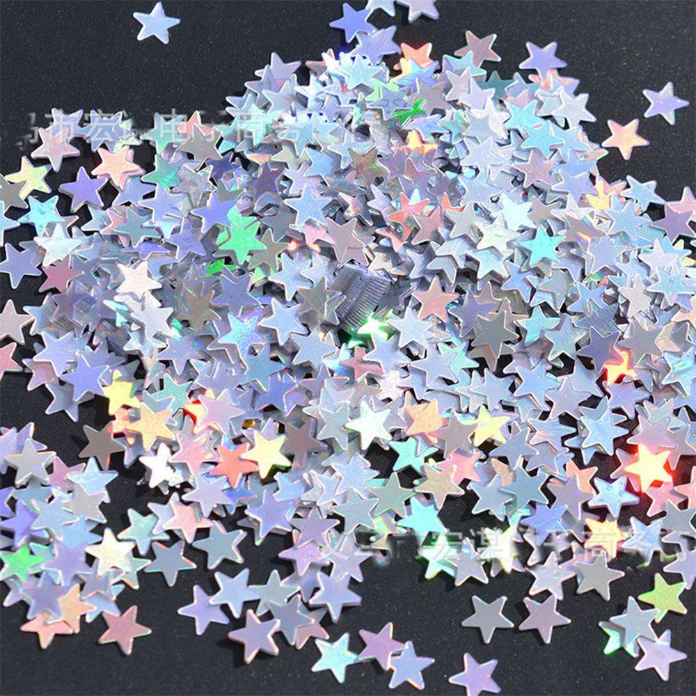 Table Scatter Baptism Decor Little Stars Confetti Sequins Glitter Sprinkles
