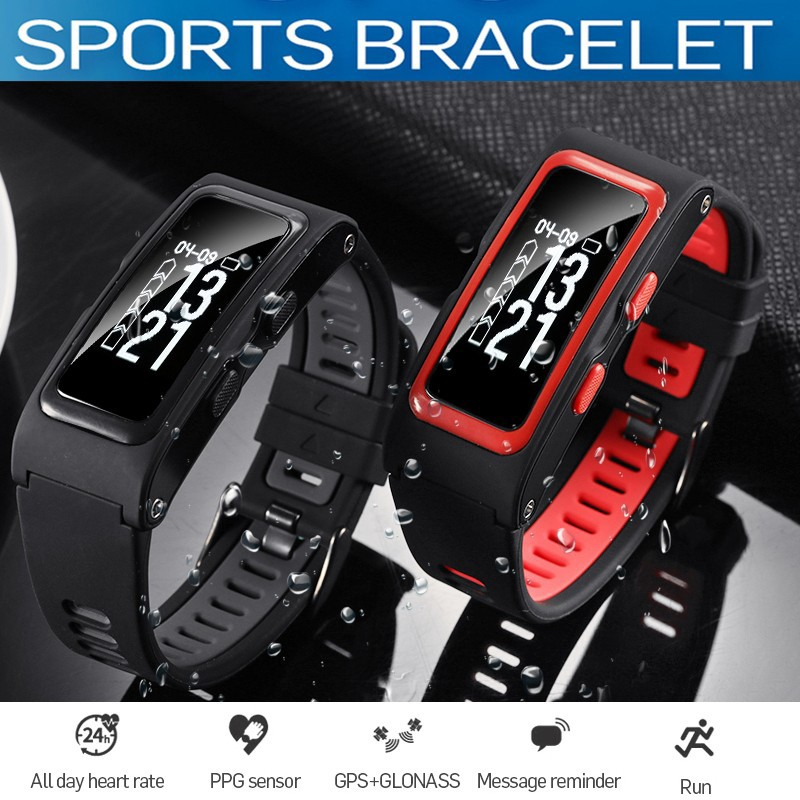 Men's Watches Watches Liberal Smart Watch Men Women Bluetooth Gps Heart Rate Monitor Pedometer Camera Whatsapp Skype Twitter Men Smartwatch For Android Ios