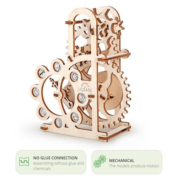 UGEARS Dynamometer Model Mechanical 3D Puzzle