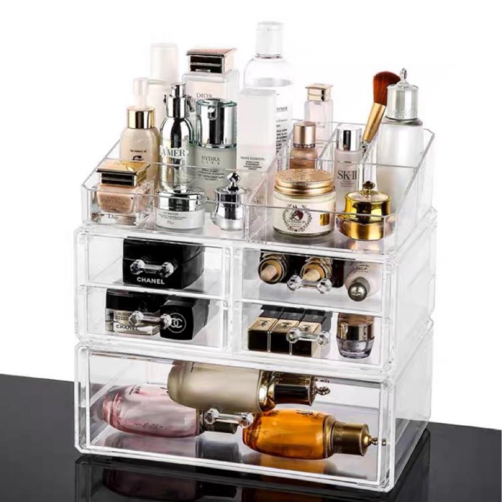 Acrylic Makeup Organizer 3pcs Extra