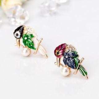J❤*Parrot Brooch Pins Jewelry Women Men Luxury Gifts Animal