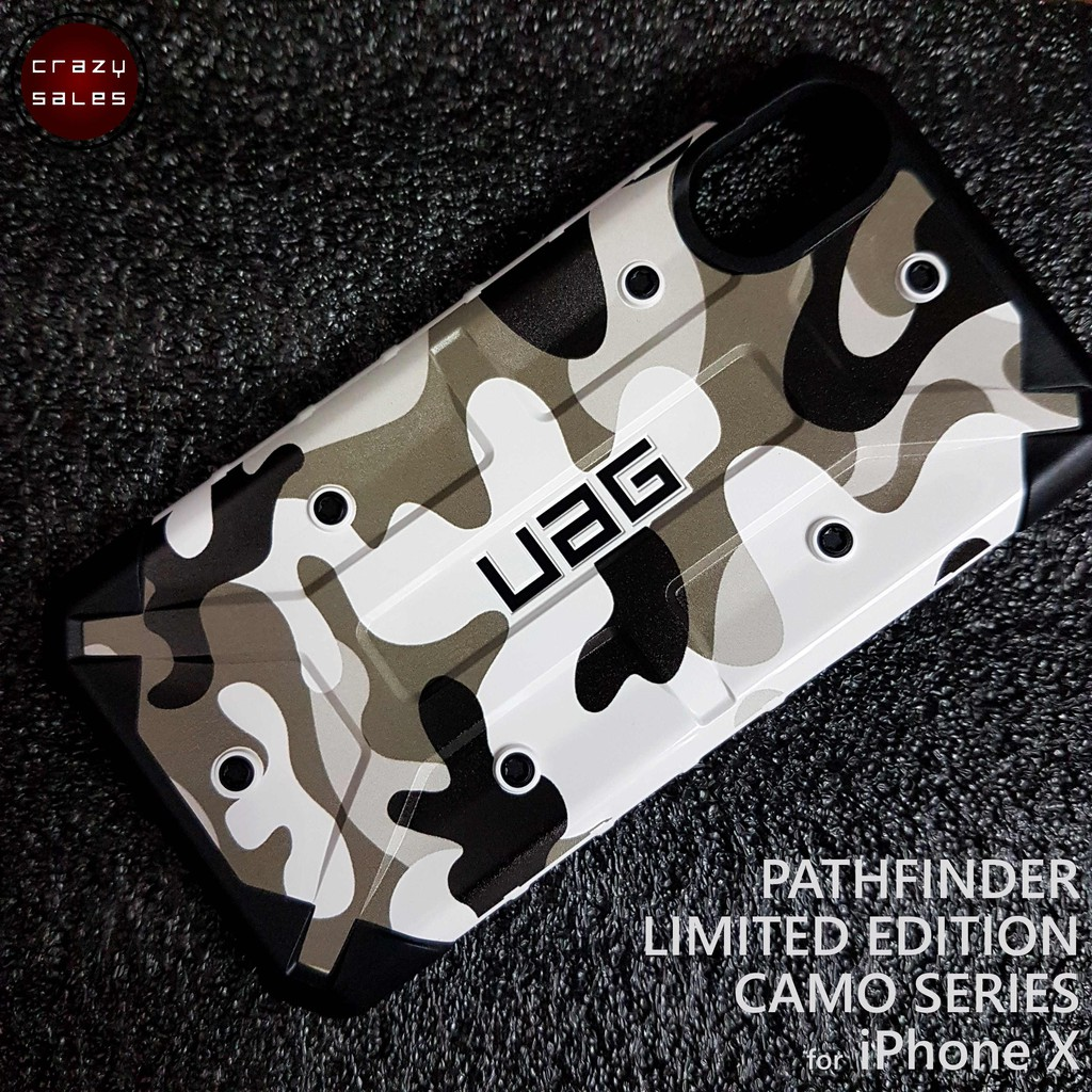 newest 485eb 7bcee iPhone XS / X UAG LIMITED EDITION PATHFINDER CAMO SERIES (ARCTIC)