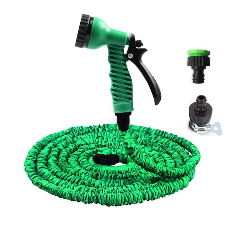 Garden Hose Expandable Flexible Plastic Hose Water Pipe with Sprayer//25FT