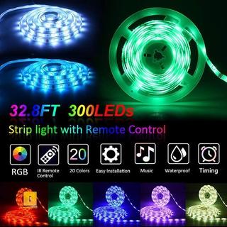 LED Strip Lights Set Sync to Music Flexible RGB Remote ...