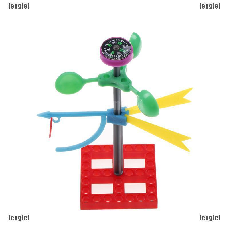 Educational Early Learning Mini Wind Vane Toys Science ...