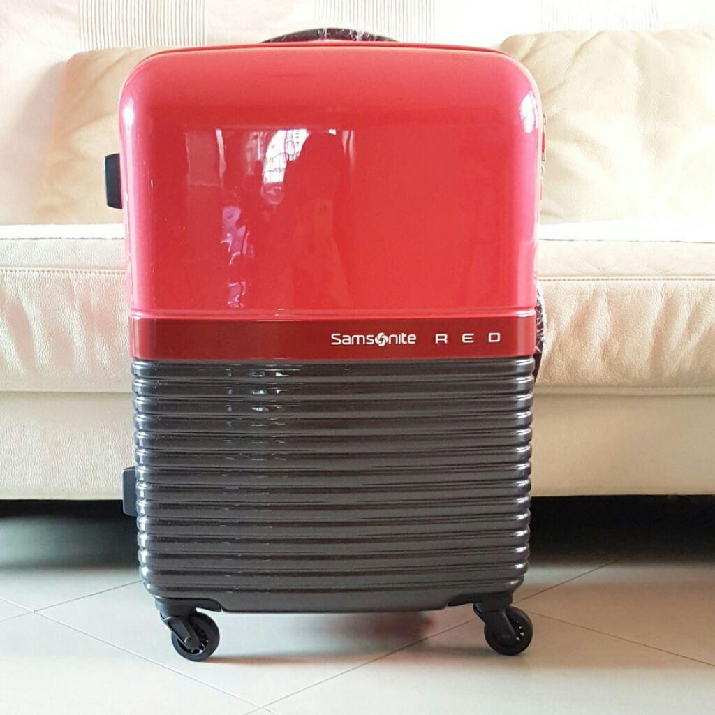 b18ea5869 BN Samsonite Red's Robo Spinner Luggage 24