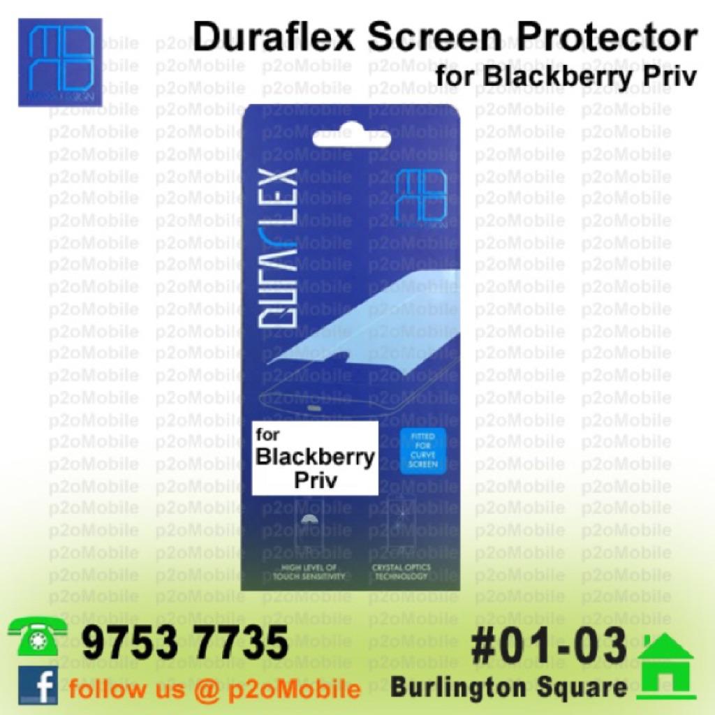 (Blackberry Priv) MonoDsign Duraflex Screen Protector for Blackberry Priv