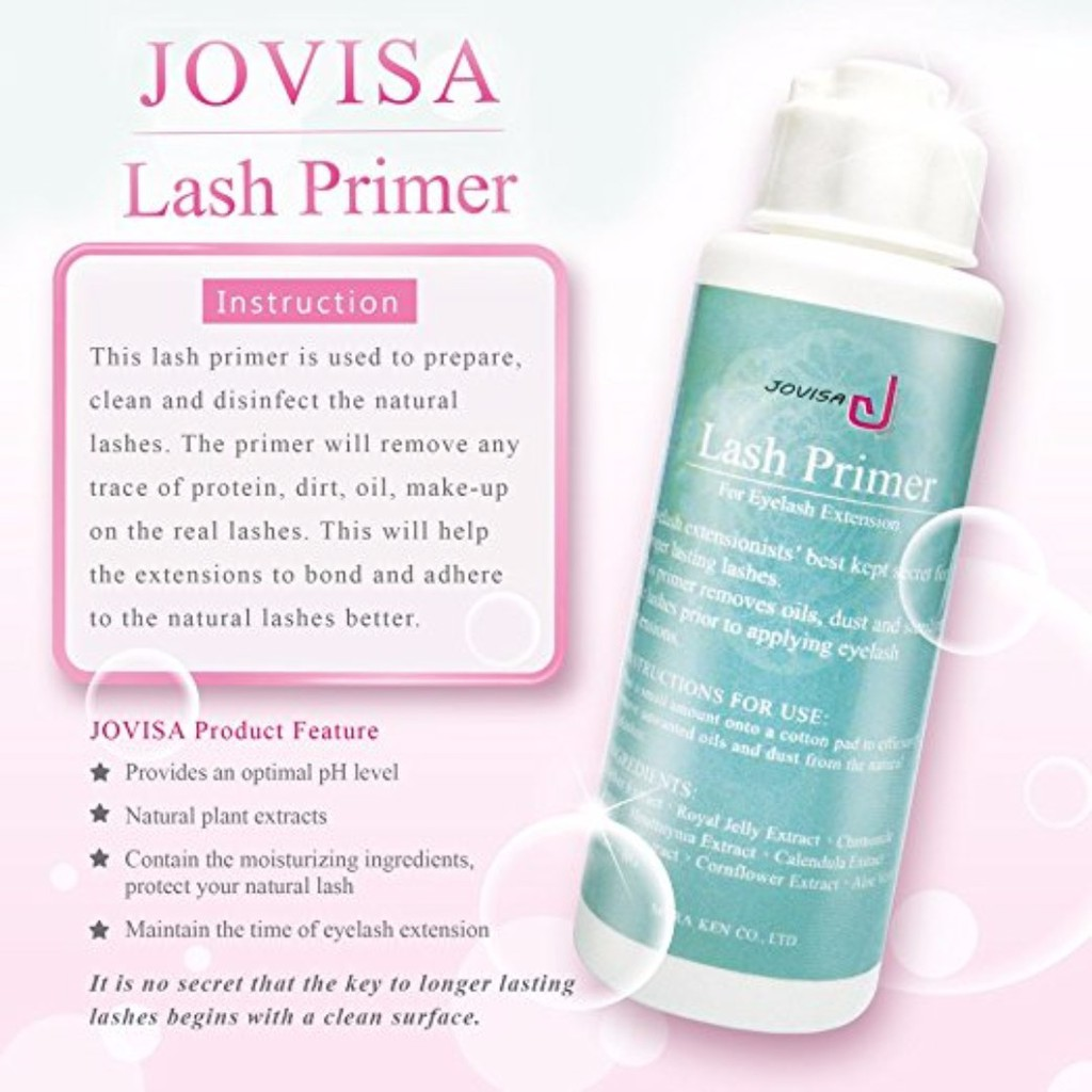 08c8a41f88e JOVISA Lash Foam Cleanser for Eyelash Extensions and Natural Lashes 30ml |  Shopee Singapore