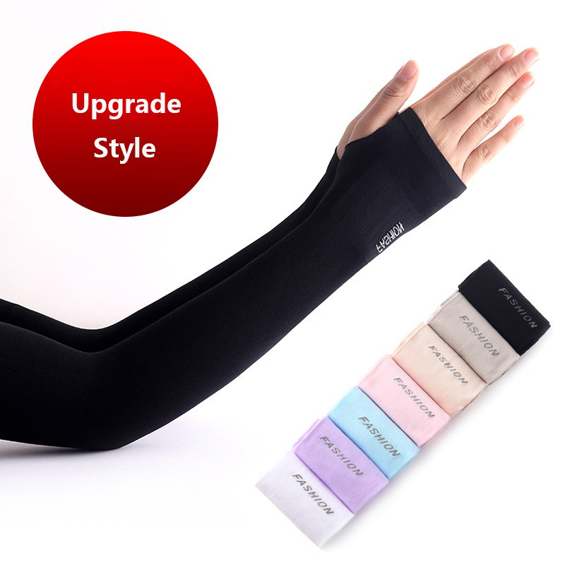 UV Sun Protection Cooling Arm Sleeves UPF 50 Compression Arm Cover Shield for
