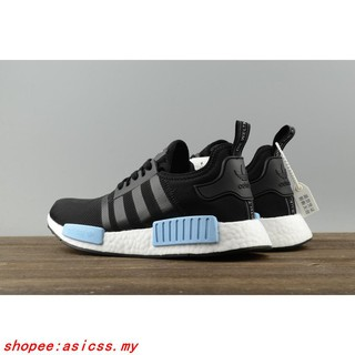 quality design beaca 972c3 Adidas NMD R1 PK Boost Footlocker Women Men Running shoes Sneakers AQ1248