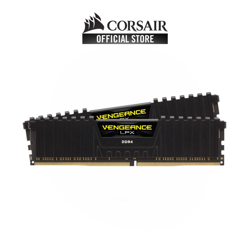 Corsair Vengeance Lpx 16gb 2x8gb Ddr4 3600mhz C18 Amd Ryzen Dimm Desktop Memory Kit Black Cmk16gx4m2z3600c18 Shopee Singapore
