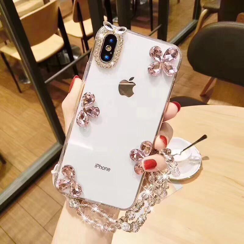 💋Vivo V9 Y81 Y71 Y69 Y55 Simple Floral Clear Case