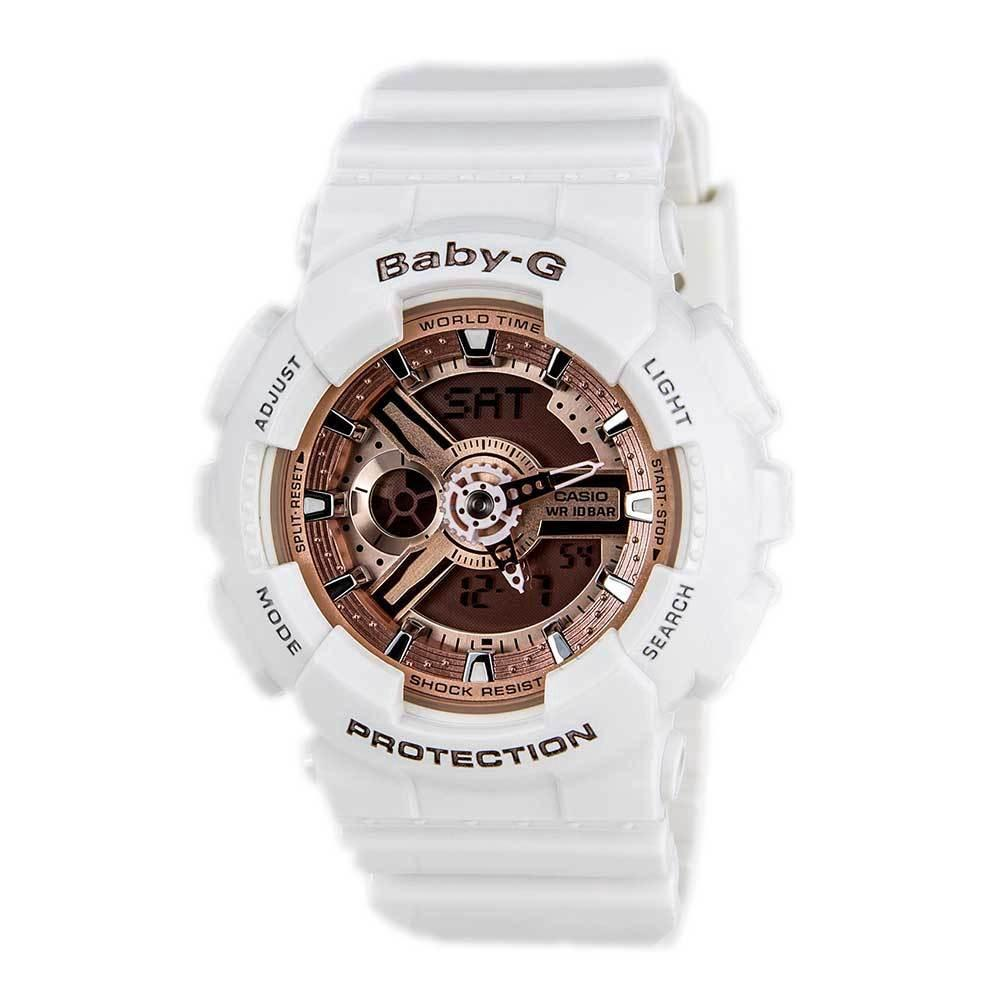 ae007fb9ec92 Casio Baby-G Standard Analog-Digital Ba-110-7a1dr Women Watch | Shopee  Singapore