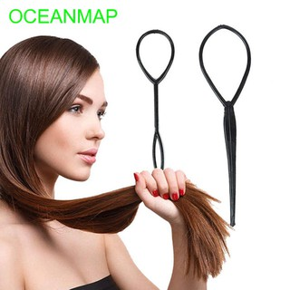 Hair Styling Hairstyle Tool Ponytail Creator Loop Tail Clip