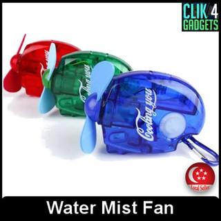 Water Mist Fan / Portable / Cooling Fan   Shopee Singapore