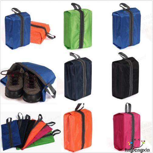 e4f15bdb52c6 LXN-2018 New Portable Travel Shoe Bag Zip View Window Pouch Storage  Waterproof