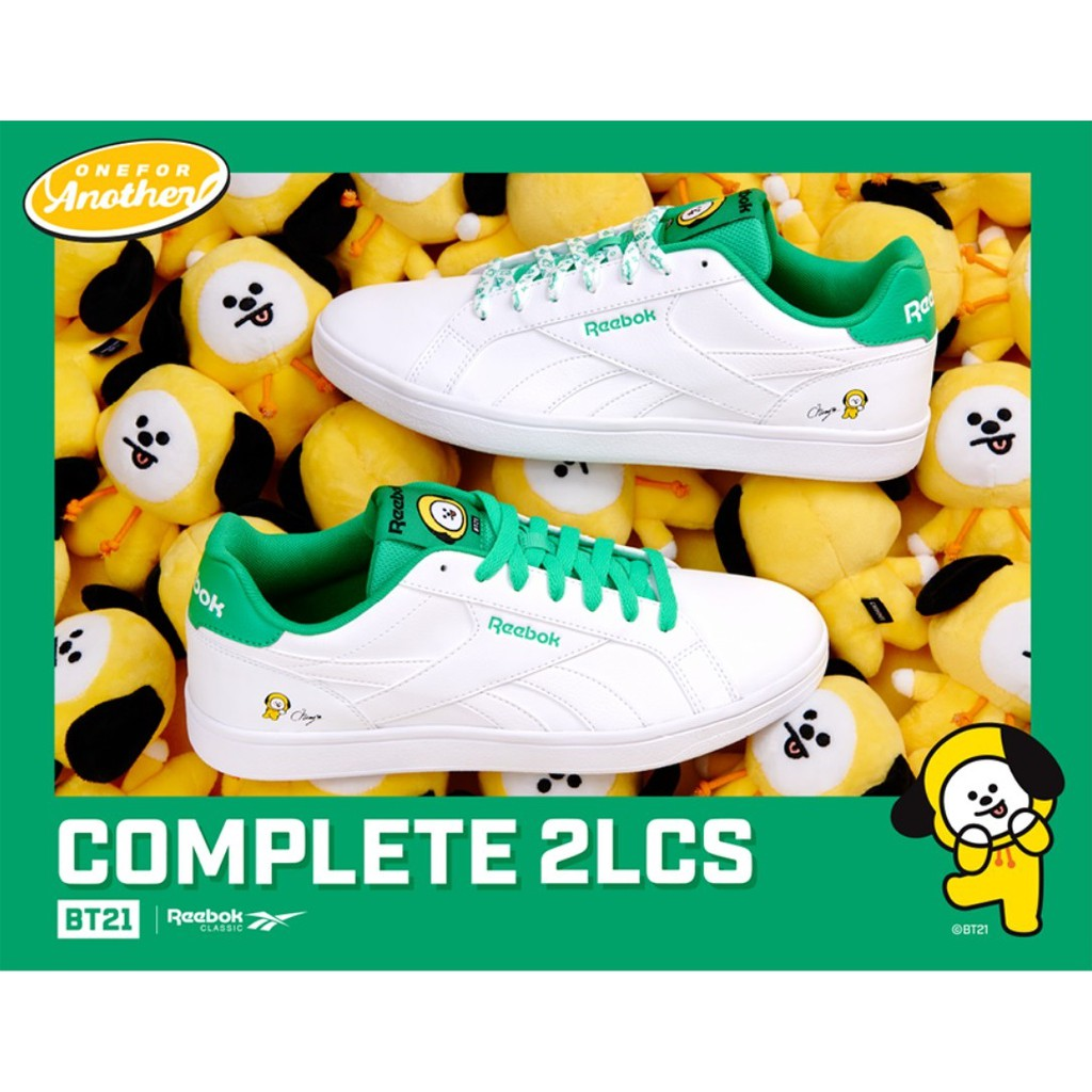 fc6ee049e3f BTS BT21 X Reebok Royal Complete 2LCS - CHIMMY