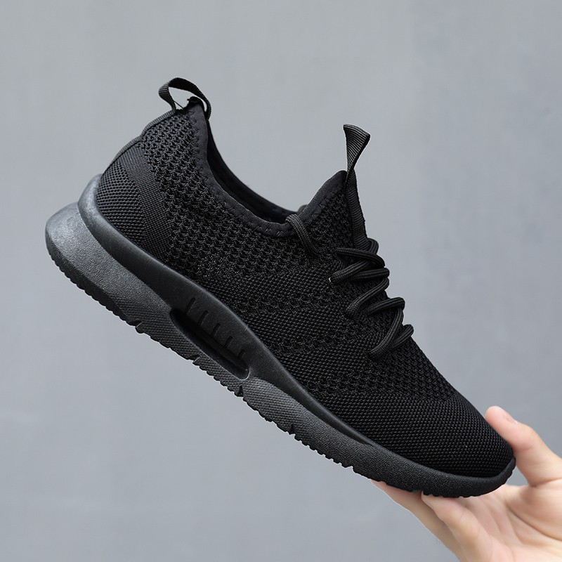 low priced 51270 86ffd Men Shoes Casual Sneakers Running Shoes Sports Shoes Black White Shoes
