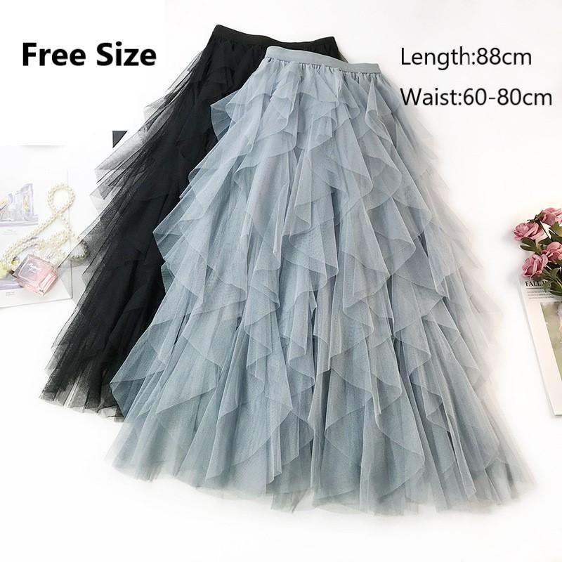 577b984add Zalora black mesh strip midi flattering midi skirt | Shopee Singapore