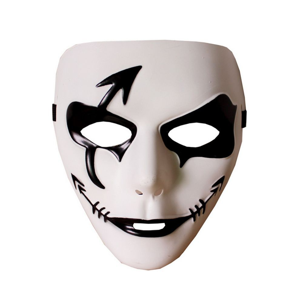 Anonymous Classic Theater Party Black White Masquerade Halloween Mask Prop