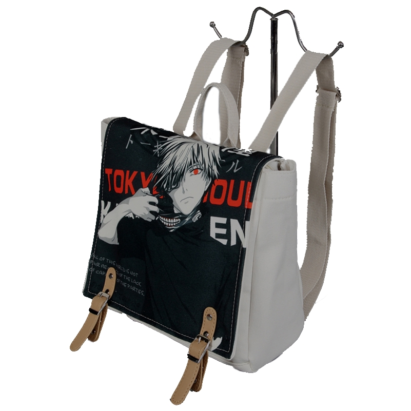 d6532401a4 Anime Tokyo Ghoul Kaneki Ken Laptop Backpack Double-Shoulder Bag School Bag