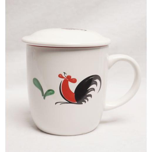 Kopin Chicken Ceramic Mug Motif Coffee Tea Cup Beautiful Porcelain Mugs Shopee Singapore