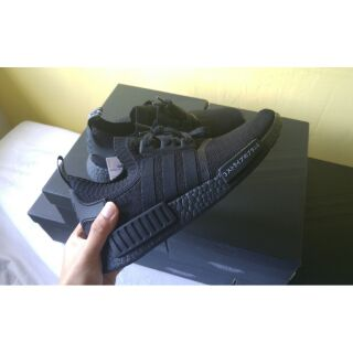 designer fashion 9f165 75437 ADIDAS ORIGINALS NMD R1 PK JAPAN TRIPLE BLACK | Shopee Singapore