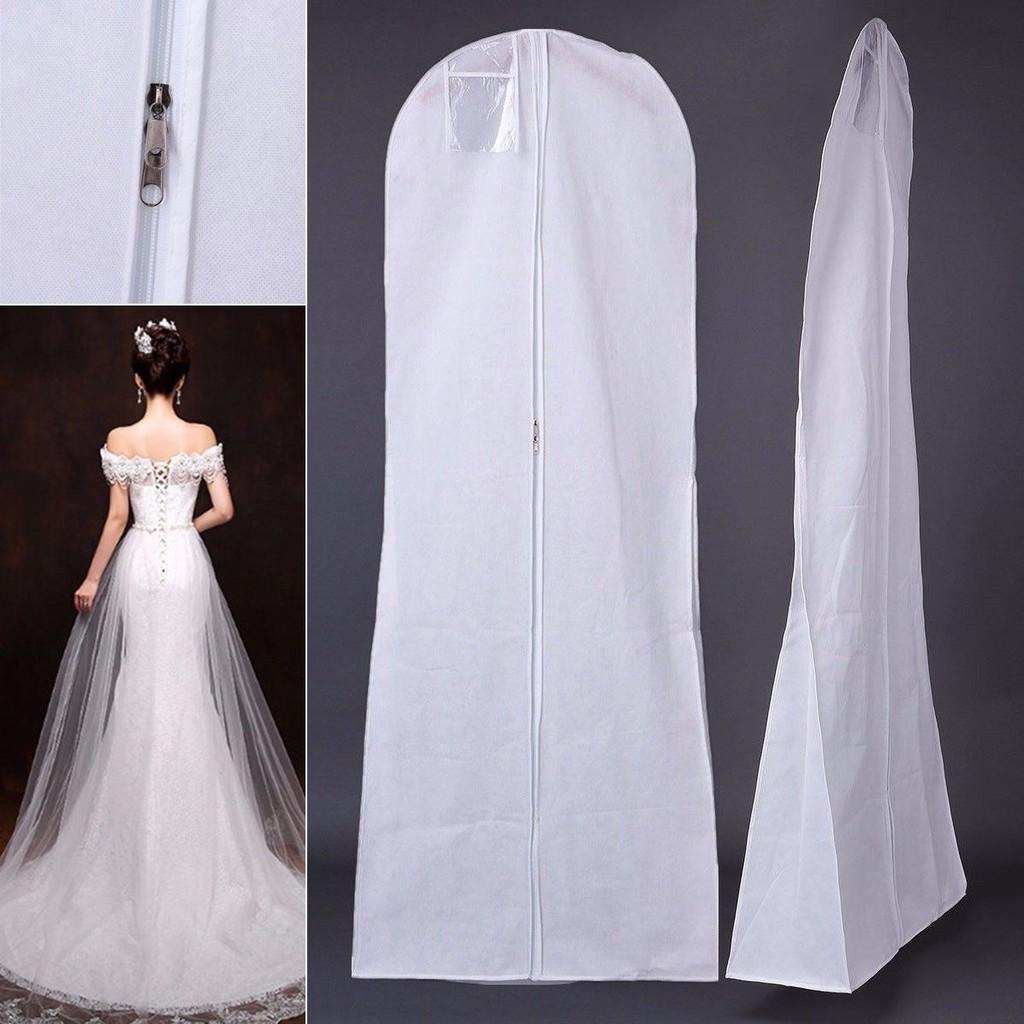 large wedding dress bridal gown garment dustproof breathable cover storage  bag