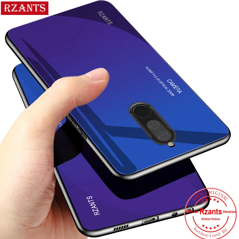 check out ee482 49cb8 Huawei Nova 2i Phone Casing【Gradient Glass Back Case】Slim Thin Full Cover