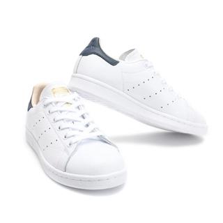 half off 25ccc 19373 Adidas MENS ORIGINALS STAN SMITH SHOES Unisex Orginals WHITE NAVY CQ2201