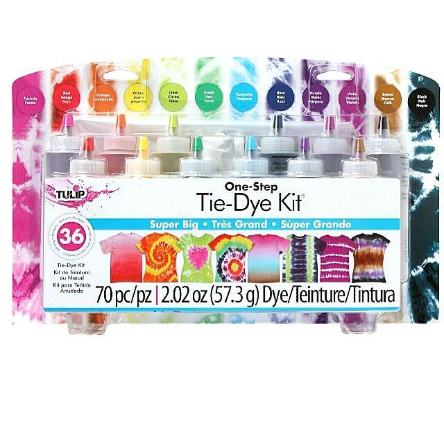 8694e4b0d821 Tulip One-Step 12-Color Tie-Dye Kit (Super Big)