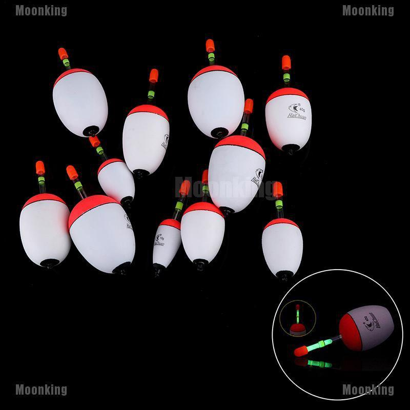 Plastic Light Stick Portable Fishing Night Float Ball Boia Eva Foam Bobber