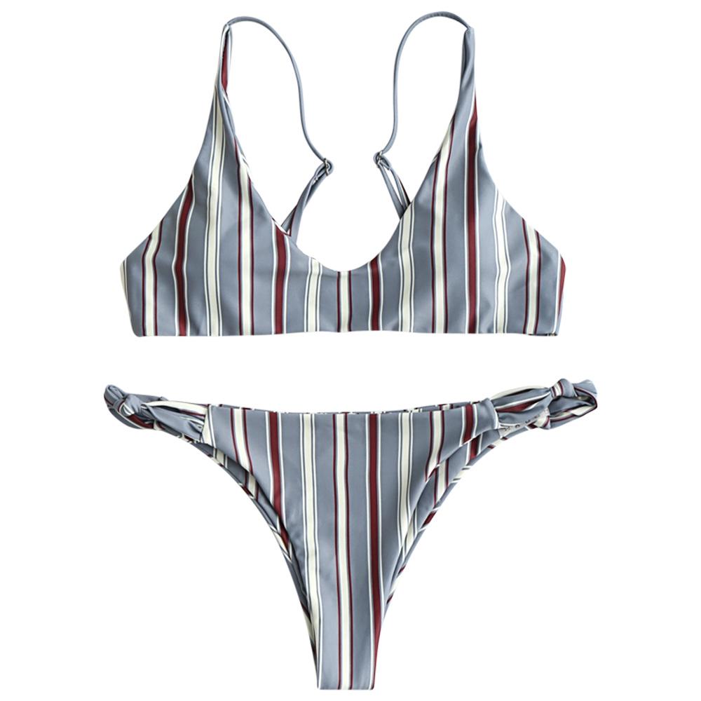 ☆ NEW Ladies Black//White Triangle Bikini /& Briefs Swim Set UK 10-12 EU 38-40 ☆