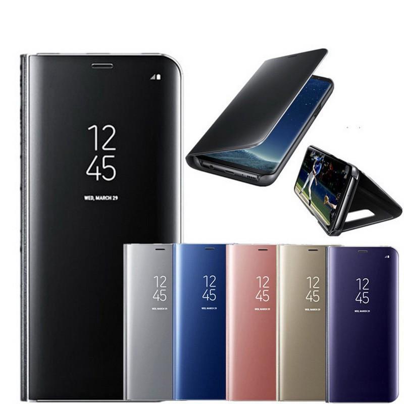 sFor Huawei Nova 2 Lite Nova 2i Honor V10 Flip Phone Case Stand Mirror View