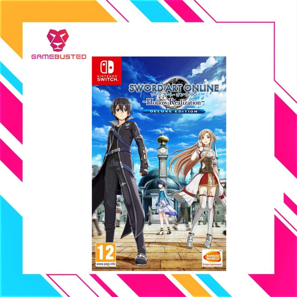 Nintendo Switch Sword Art Online Hollow Realization Deluxe Edition