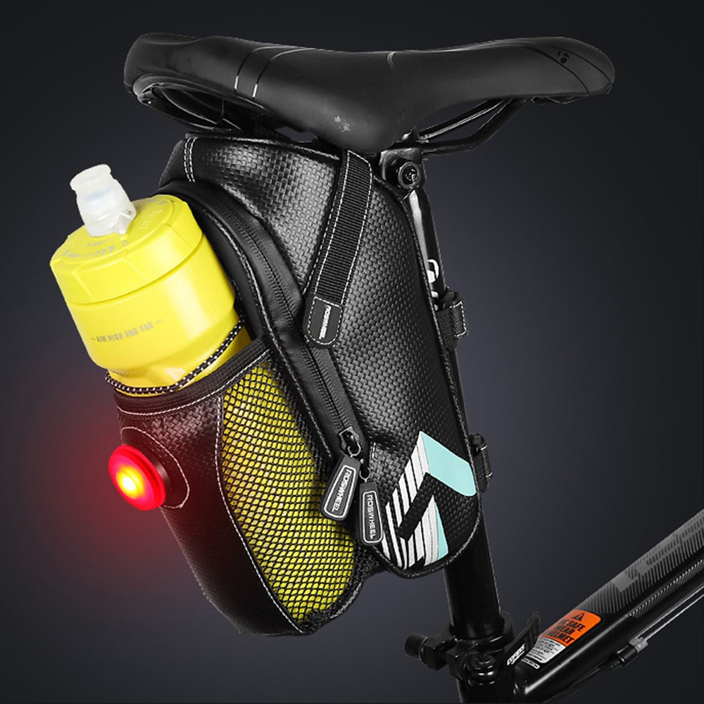 Rack Bottle Bag Riding MTB Tail Seatpost Holder Water container Storage