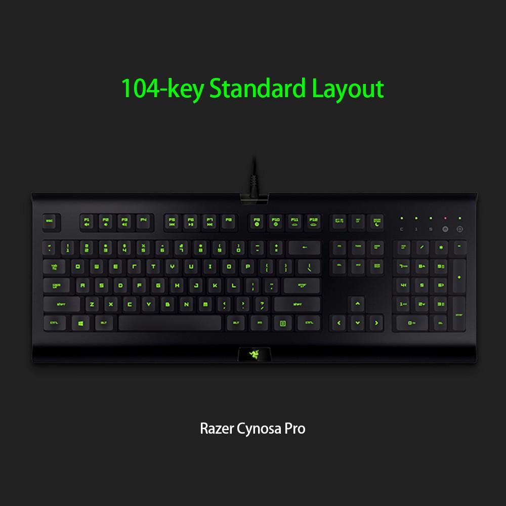 Razer Cynosa Pro Keyboard Razer Deathadder 2000 Mouse Combo Kit Gaming Set 3 Color Backlight Macro Recording Shopee Singapore
