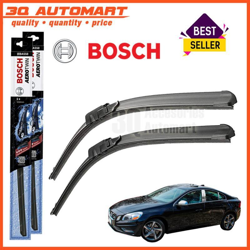 Fits Volvo S60 Saloon Bosch Aerotwin Plus Front Windscreen Wiper Blades